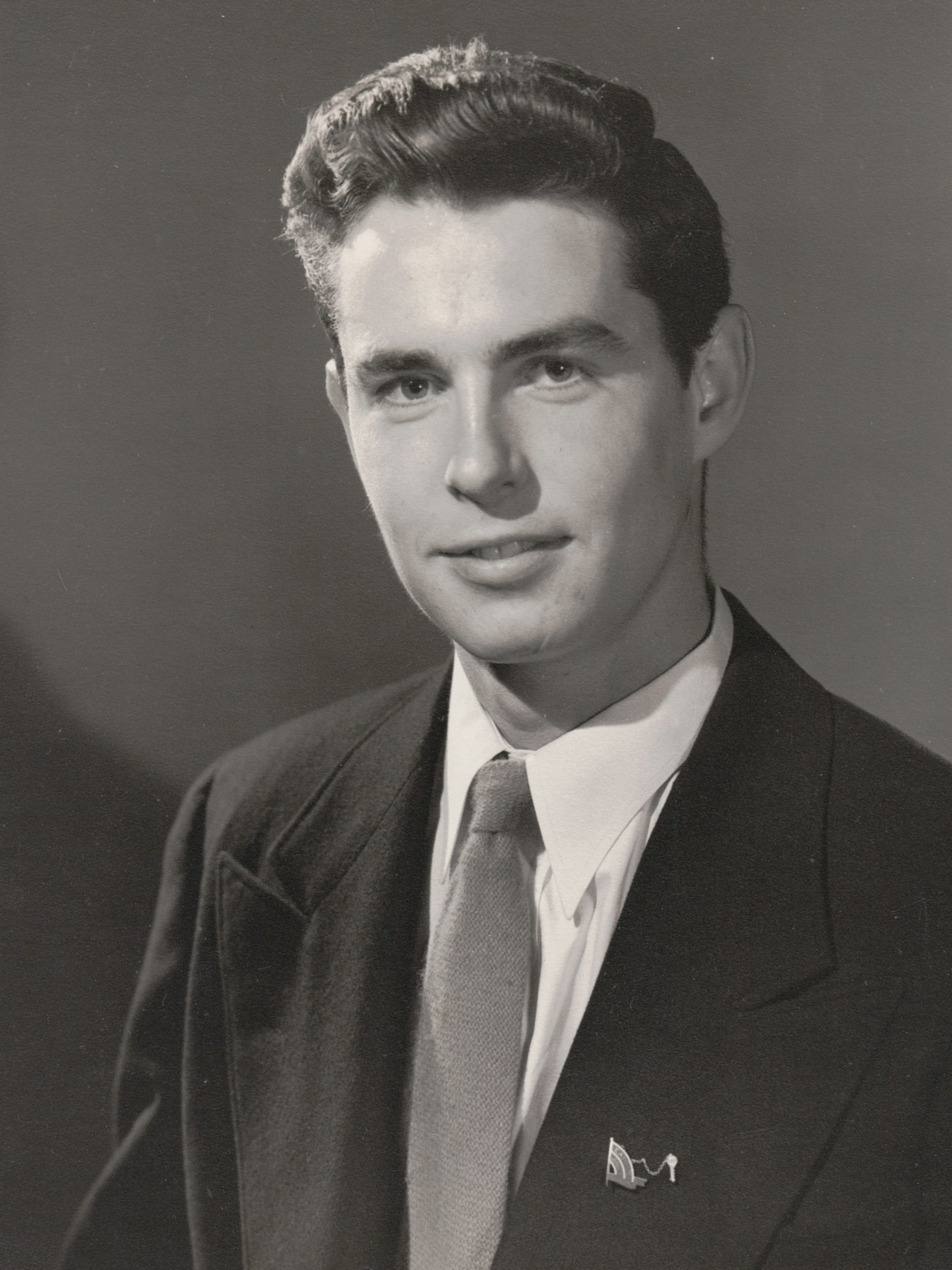 Portrait of Harley Warner as a young man