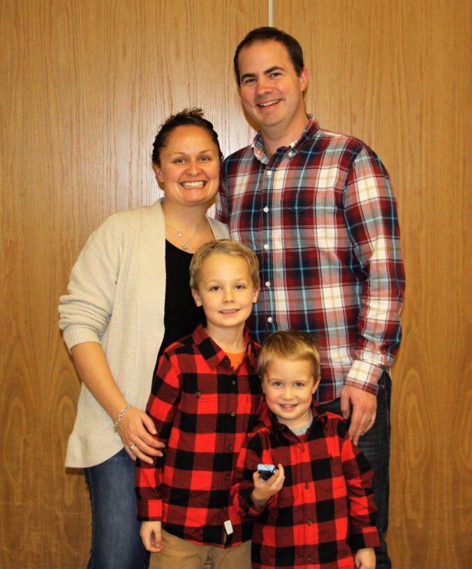 Photo of JSW AJB and family